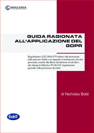 GUIDA RAGIONATA ALL'APPLICAZIONE DEL GDPR