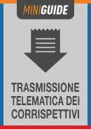 TRASMISSIONE TELEMATICA DEI CORRISPETTIVI