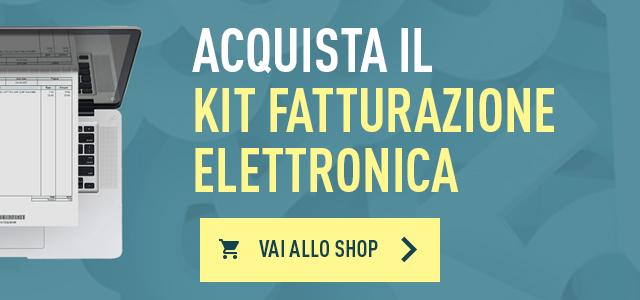 Acquista il Kit Fatturazione Elettronica